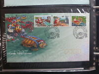 AUSTRALIA 1997 CHRISTMAS Is CHRISTMAS SET 3 STAMPS FDC FIRST DAY COVER