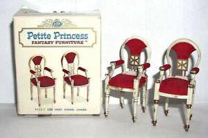 Petite Princess Fantasy Furniture Host Dining Chairs NIB 4413-1