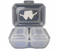 Set of 3 Clip Box Storage Food Containers Tupperware - 2 L & 500 ML
