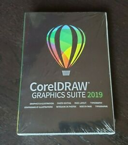 BRAND NEW CorelDRAW Graphics Suite 2019 Full Version for Windows PC