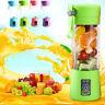 400ML Portable USB Electric Juice Blender Processor Smoothie Maker Sport Bottle