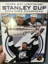NHL Tampa Bay Lightning Stanley Cup 2003-2004 Champions region 1 DVD (ice hockey
