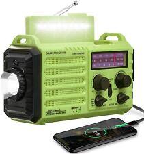 Weather Radio Noaa Alert Emergency Radio,Solar/Hand Crank/Am Fm Shortwave