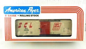 AMERICAN FLYER/Lionel S Scale #6-48306 SCL Seaboard Coast Line Boxcar ~NIB~ T136