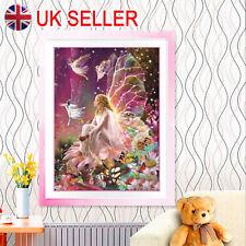Diy 5D Diamond Painting Crystal Rhinestone Embroidery Decor Arts Fairy Queen