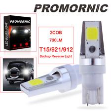 2COB White 921 T15 LED Reverse Backup Light Bulbs for Nissan Hyundai 6000K White