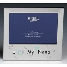I Love My Nana Photo Picture Frame Birthday Christmas Mothers Day Gift Present