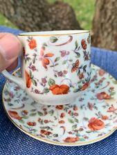 Antique Vintage FRENCH PROVINCIAL Country Rose Teacup & Saucer UNIQUE ❤️sj17j