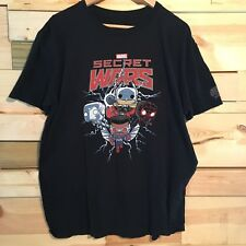 MARVEL Funko POP secret Wars Tshirt Size Large Spider-Man Thor Comics Falcon