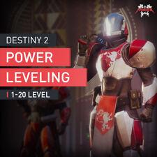 Destiny 2 powerleveling 1 - 20 level Boost rare Legendary exotic Gear 290 Power