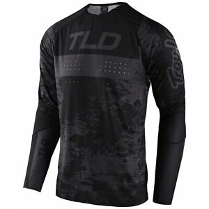 Troy Lee Designs Sprint Ultra Jersey Tld Mtb Dh Downhill Bmx Gear BLACK 2021