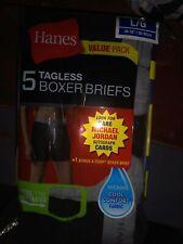 5+1-Pack Michael Jordan Men's Collector's Edition Boxer Briefs Underwear - L/G