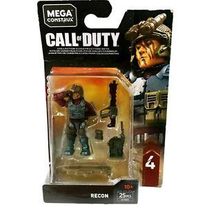 Call of Duty Mega Construx Block Series #4 Recon 25pcs GCN86 Toy Mini New