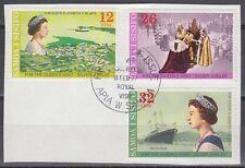 Samoa 1977 Θ Mi.346/48 Regentschaft Silver Jubilee Queen Elizabeth [sq7108]