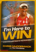 I'm Here To Win 2011 First Edition Chris McCormack Biography Great Pictures!