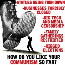 Conservative  BOOT HOW DO YOU LIKE COMMUNISM SO FAR Political Shirt