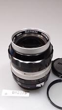 VINTAGE Nippon kogaku NIKKOR-P 105mm 2.5 PRIME LENS NON-AI/NIKON F W/CAPS L@@K