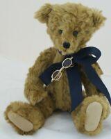 "Artist TEDDY BEAR GREGORY II by Kathy Nearing, 13"" Jointed Bear, NWT, OOAK"