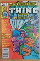 MARVEL TWO-in-ONE #6 Annual The Thing (1st) American Eagle (1981 MARVEL Comics)