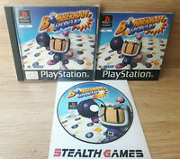 Bomberman World Ps1 PAL Complete Black Label Rare Sony Playstation 1 1998 HUDSON