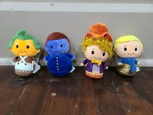 Hallmark Itty Bittys Willy WONKA and the Chocolate Factory Set of 4