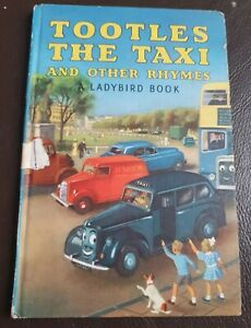 Vintage Ladybird Book Tootles the Taxi and other Rhymes Series 413 Good with Dog