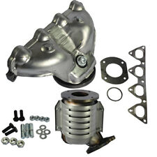 Exhaust Manifold with Integrated Catalytic Converter For 1996-2000 Honda Civic