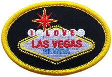 "I Love Las Vegas Patch 8cm x 5.5cm (3"" x 2 1/4"")"