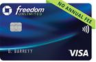 Chase Freedom Unlimited $200 bonus +$50 Bonus from Me 100% Positive Seller