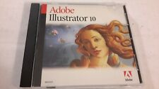 Adobe Illustrator 10 for Macintosh Retail Full Install CD with Serial Number