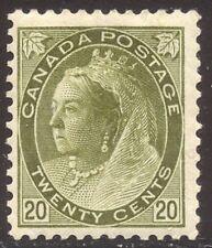 CANADA #84 Mint - 1900 20c Olive Green