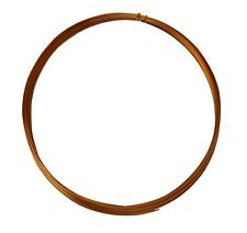 25' Half Round Half Hard Copper Wire 22 Gauge Jewelry Making Craft Wire