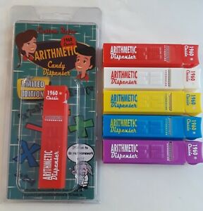 PEZ Custom Retro Arithmetic Dispenser Set of 5 LE of 100 by FX Mike In Stock!