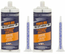 2 x VIP21B Power Mix 2K Polyurethane universal Repair Adhesive - Black 1 Minute