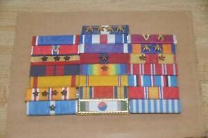 US Military Medal Bar Group