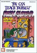 """""""YOU CAN TEACH YOURSELF ROCK GUITAR""""-DVD BRAND NEW SEALED ON SALE INSTRUCTIONAL!"""