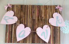 Nuevo gigante de Madera Corazón empavesado cada corazón es 30cm encantador de fotografía de boda