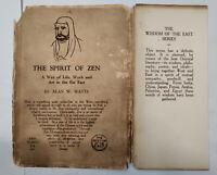 RARE ** ALAN WATTS 'THE SPIRIT OF ZEN' 1932 FIRST EDITION WITH DJ