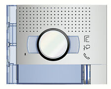 Bticino 351211 frontale audio video 1 puls allmetal