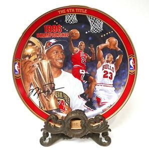 Michael Jordan Upper Deck The 4th Title Collector Plate #8875A