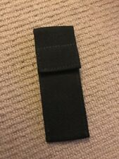 """Ex Police Small Black Pouch For 2"""" Kit Belt. 445."""