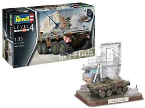 Revell 03321 SpPz2 Luchs & 3D Puzzle Diorama - 1:35 - Bausatz - Neu