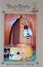 Bee Hive Sampler  Pincushion Bird Brain Designs PATTERN ONLY