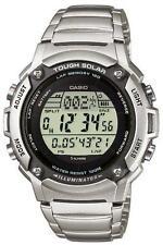 Runde Casio Armbanduhren aus Edelstahl für Unisex