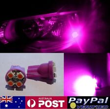 Pink LED T10 Parker Bulbs - Holden Commodore VL VN VP VR VS VT VX VY VZ VE