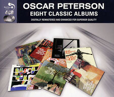 Oscar Peterson EIGHT (8) CLASSIC ALBUMS Jazz Soul Of PLAYS PORGY & BESS New 4 CD
