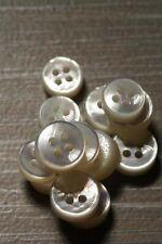 Beautiful Thick Mother of Pearl (MOP) Shirt Button Set!