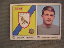 FIGURINA PANINI CAMPIONATO 1964/65 - MODENA - STEMMA / COLOMBO - OTTIMO