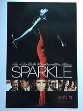 """Sparkle Promo Movie Poster 11""""x 17"""" Whitney Houston Jordan Sparks"""