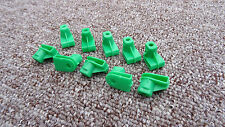VOLVO Plastic Grommet Nut for Screws- Bumper to Wing/Headlight Grille 10Pcs